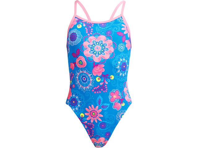 Funkita Single Strap Swimsuit Girls lacy in the sky
